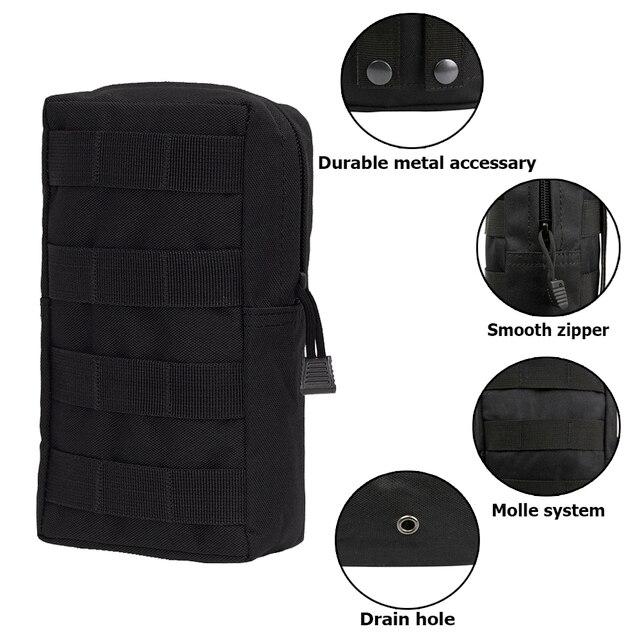 Sports Military MOLLE Pouch Vest Bag 2