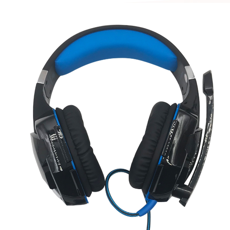Gaming Headset Deep Bass Stereo Computer Game Headphones with microphone LED Light PC professional Gamer