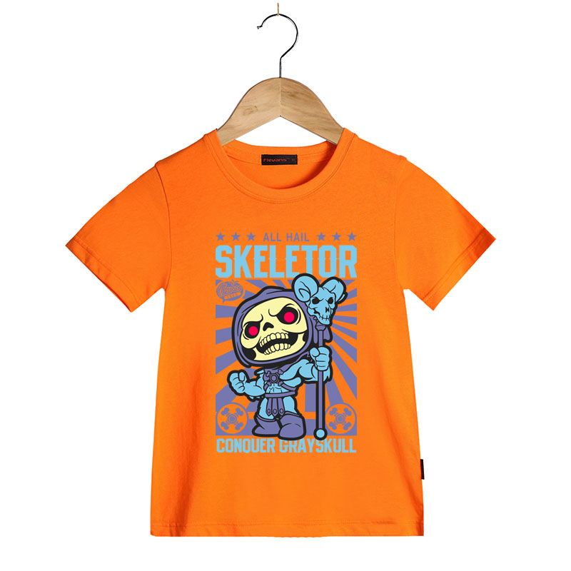 eb0e7be8a84 He Man Masters of The Universe T Shirt for Kids Boys Girls Short Sleeve  Skeletor Cartoon T shirts Summer Children Brand Tee Tops-in T-Shirts from  Mother ...