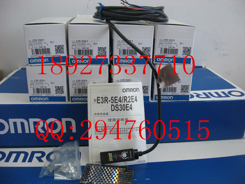 [ZOB] New original OMRON Omron photoelectric switch E3R-R2E4 2M [zob] new original omron omron photoelectric switch ee sx974 c1 5pcs lot