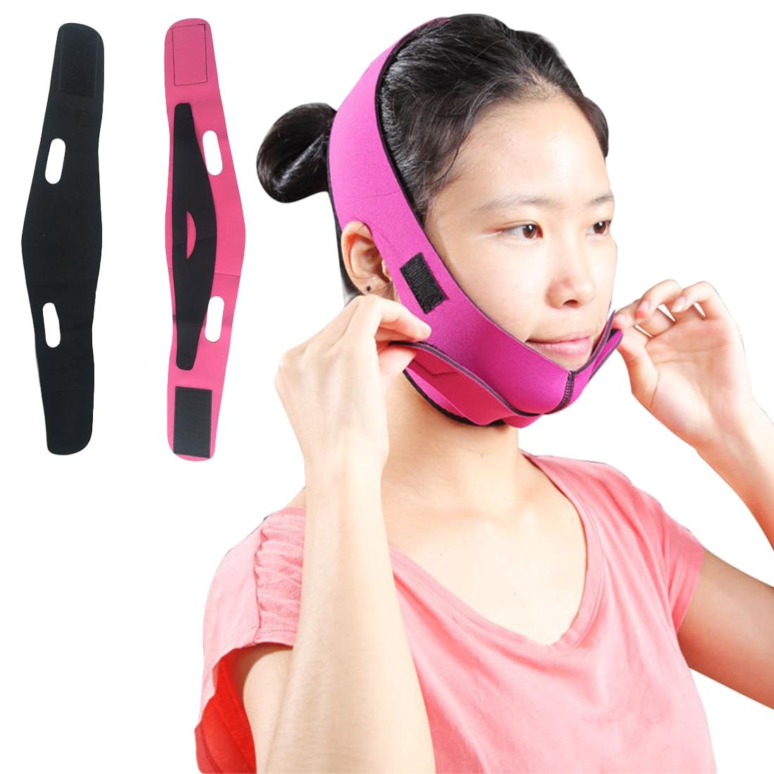 Elastic Ultra-thin breathable face-lift Chin Cheek Slim Lift…