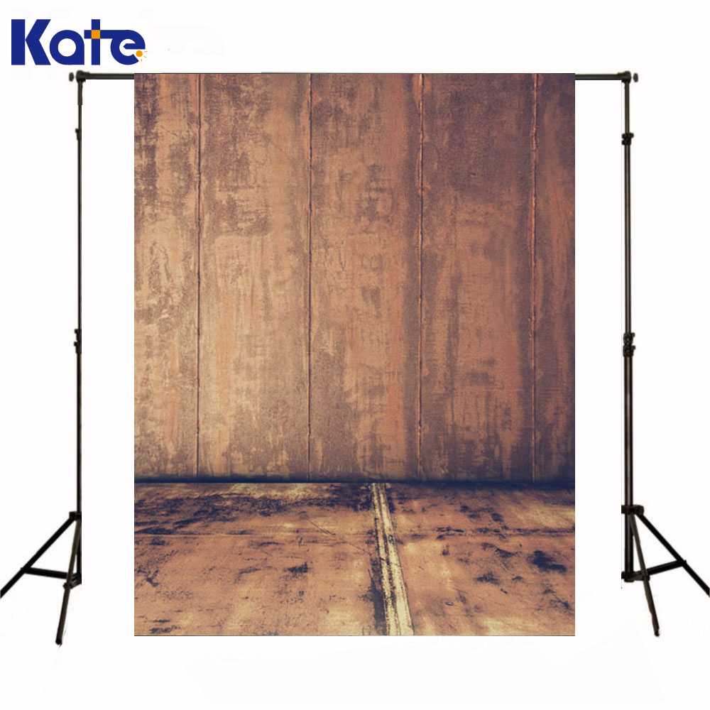 Kate Newborn Baby Fotografia Backdrops Wooden Wall  Photography Background Iron Odl Style Floor Studio Background fotografia newborn photography props blanket letter racks fences photography backdrops background