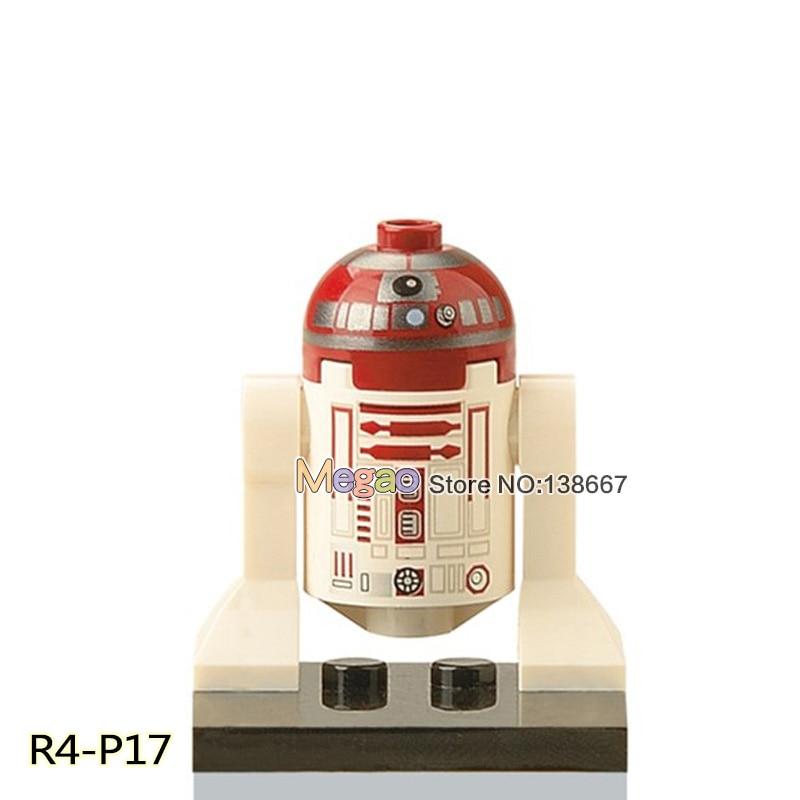 Model Building Toys & Hobbies Sensible Single Sale Star Wars R4-p17 Xh331 R2-d2 Luke Anakin Anakin Action Legoing Building Blocks Education Model Toys Bricks Children Attractive Appearance