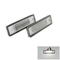 Exact Fit White LED License Plate Light Lamps For Opel Astra F Estate Astra G Corsa