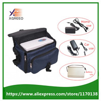 XGREEO XTY-BC Uso Del Coche Dispositivo Generador de Concentrador de Oxígeno Portátil Viajes Home Utilizar con Batería Y Bolsa de Viaje