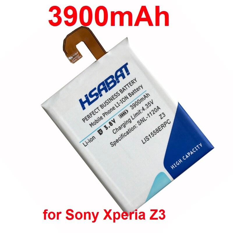 imágenes para LIS1558ERPC HSABAT 3900 mAh batería Batería Del Teléfono Para Sony Xperia Z3 L55T L55U D6653 D6633 D6603 D6616 D5803 D5833 D6708