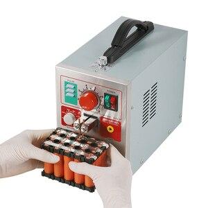 Image 4 - Sunkko 709a soldador do ponto 1.9kw conduziu a máquina de solda do ponto da bateria do pulso da luz para 18650 soldadores do ponto da precisão da soldadura do bloco da bateria