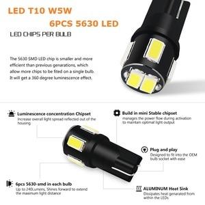 Image 3 - 10x W5W LED T10 LED 인테리어 자동차 볼보 XC60 XC90 S60 V70 S80 S40 V40 V50 XC70 V60 C30 850 C70 XC 60 Leds 12V