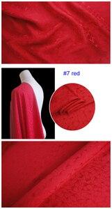 Image 3 - כבד משי חומר לוטוס אקארד משי בד עבור שמלות חולצות משי ויסקוזה
