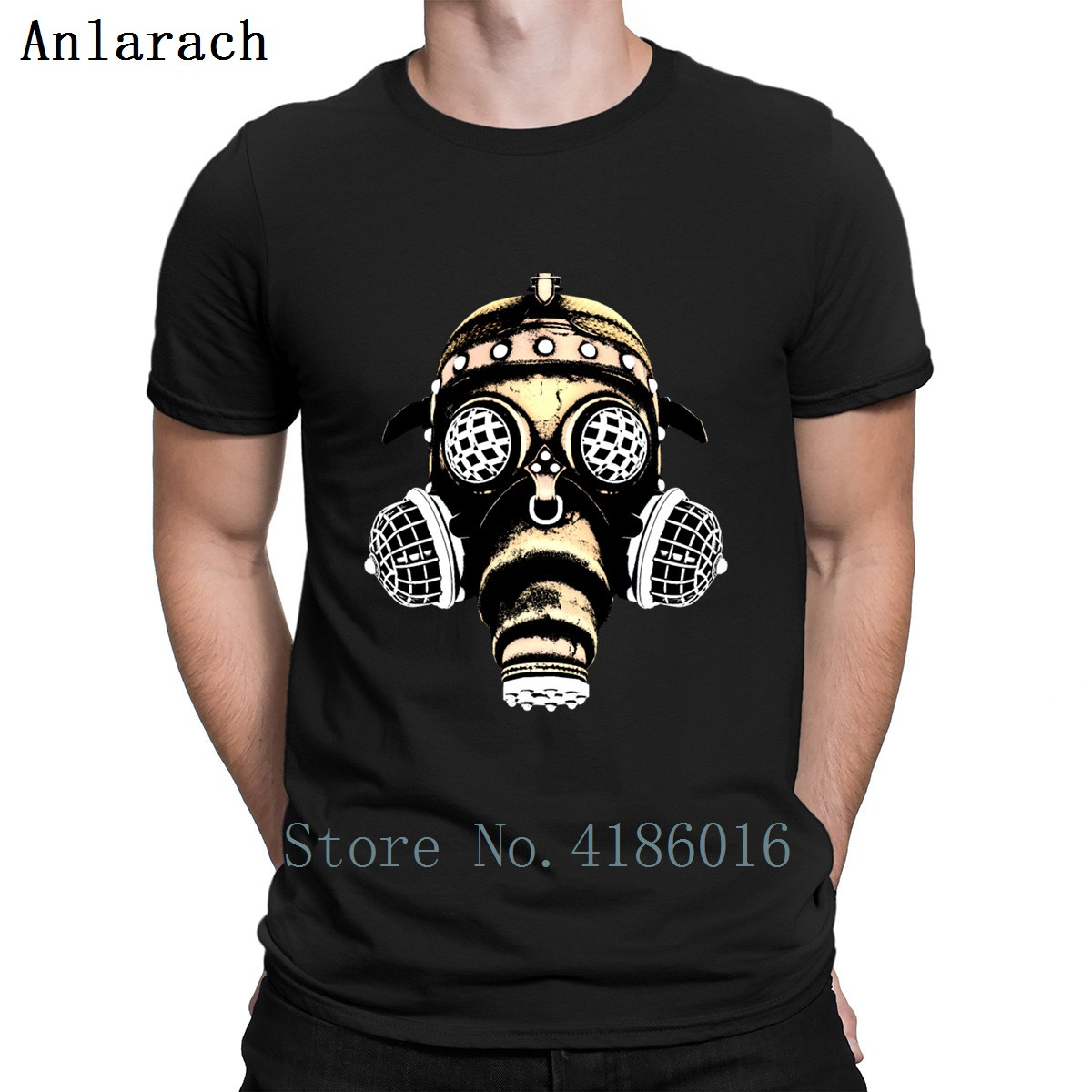 Exclusive And Unique T-shirt Design gas Mask Sb078