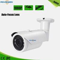 Auto Focus Lens CCTV Security Camera Sony IMX323 CMOS Sensor 1080P Resolution 4X Motor Zoom Waterproof 40M IR AS MHD8412AF