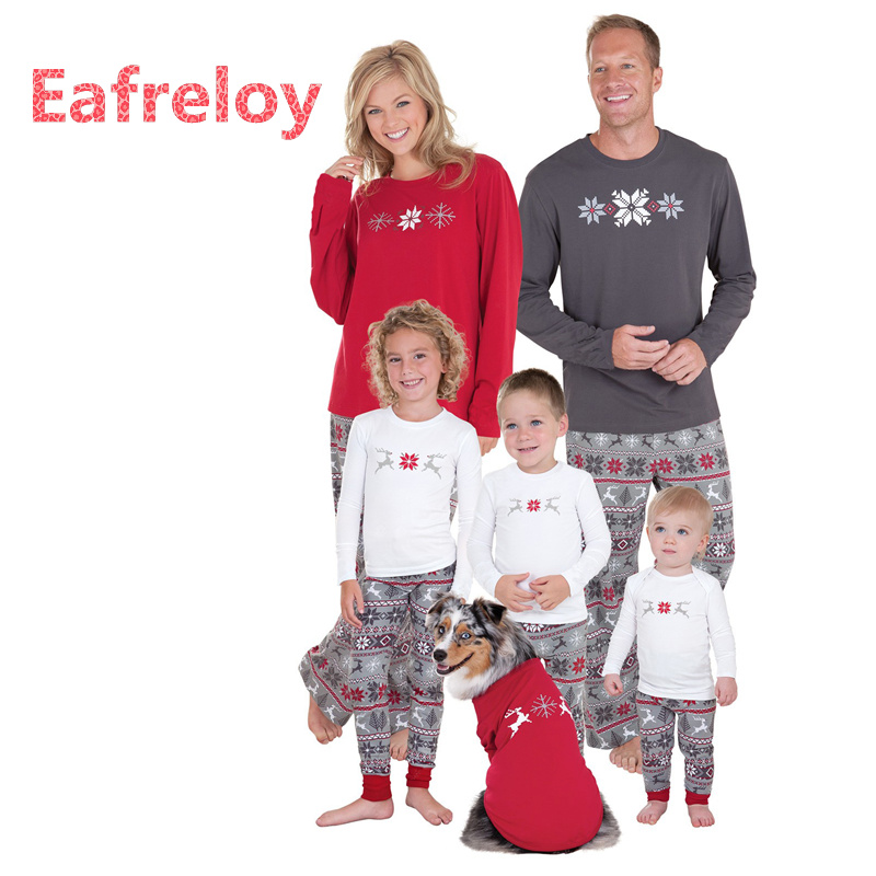 Family Christmas Pajamas Family Matching Clothes Matching ...