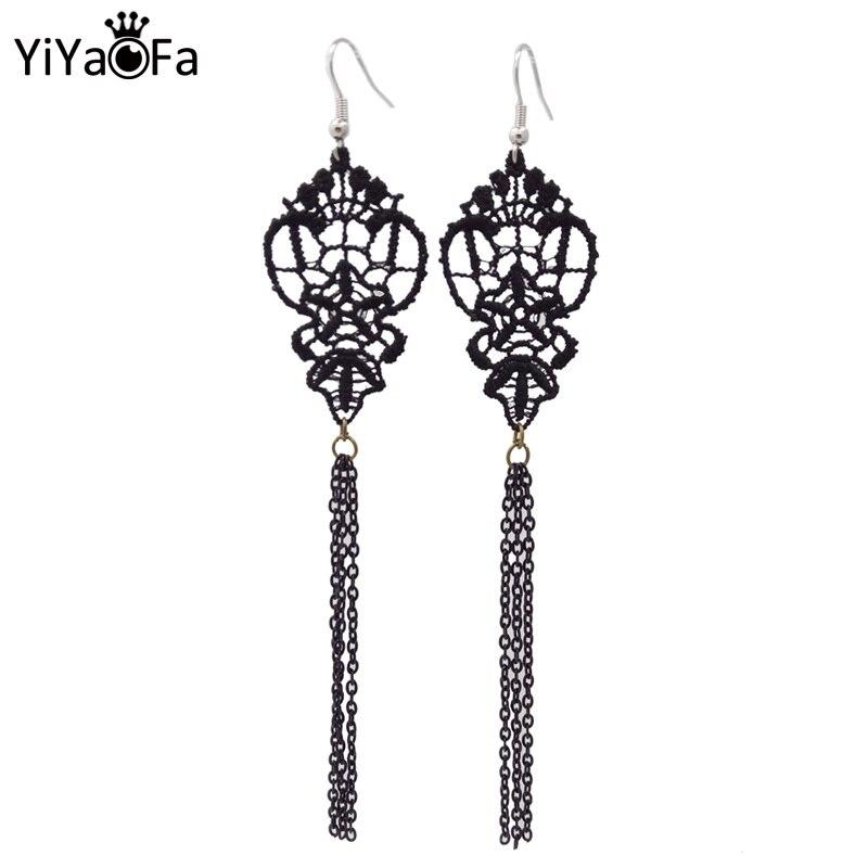 Womens Dangle Earrings Womens Fashion Earrings Black Resin Earring Sweet Dangle Earring for Women Girls E625