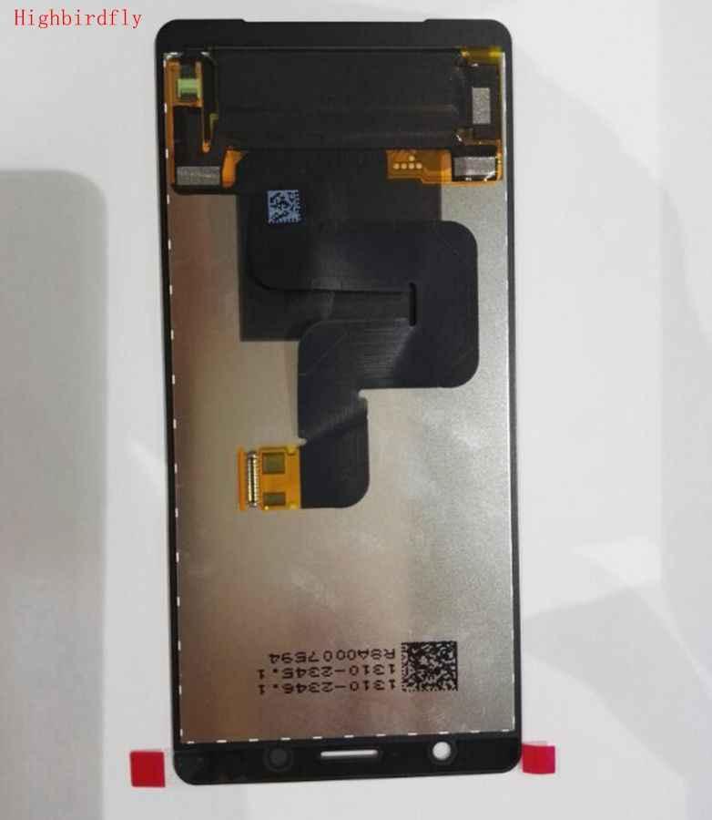 """5.0 """"Cho Sony Xperia XZ2 Nhỏ Gọn H8324 Màn Hình LCD Cảm Ứng Kính Cường Lực Bộ Số Hóa Các Bộ Phận Thay Thế Full Màn Hình LCD 2160*1080"""
