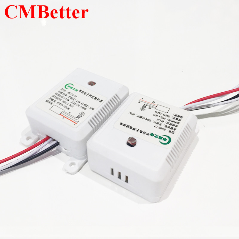 CMBetter Switch DC AC 220V Sound Light Control Switch Worldwide ...