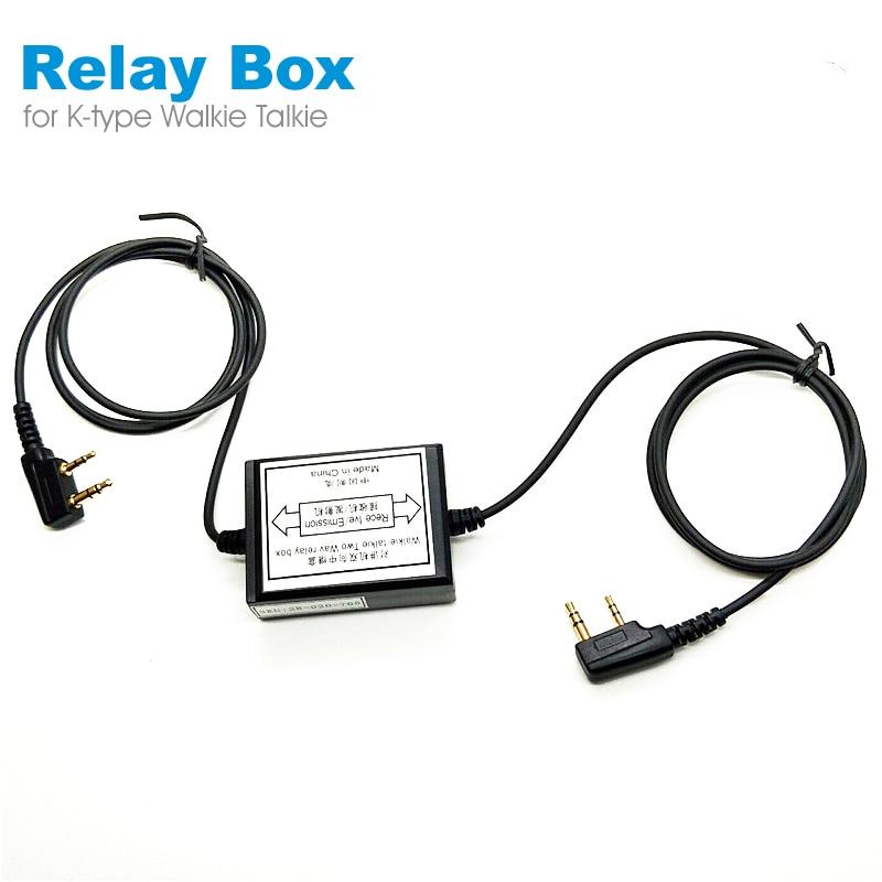 Walkie-talkie Two Wav Relay Box Rece Ive/Emission RPT-2K Two Way Radio Receiver Transmitter For Kenwood Baofeng Wouxun Puxing
