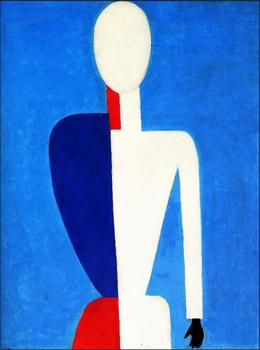 High quality Oil painting Canvas Reproductions Torso (1932)  By Kazimir Malevich hand painted