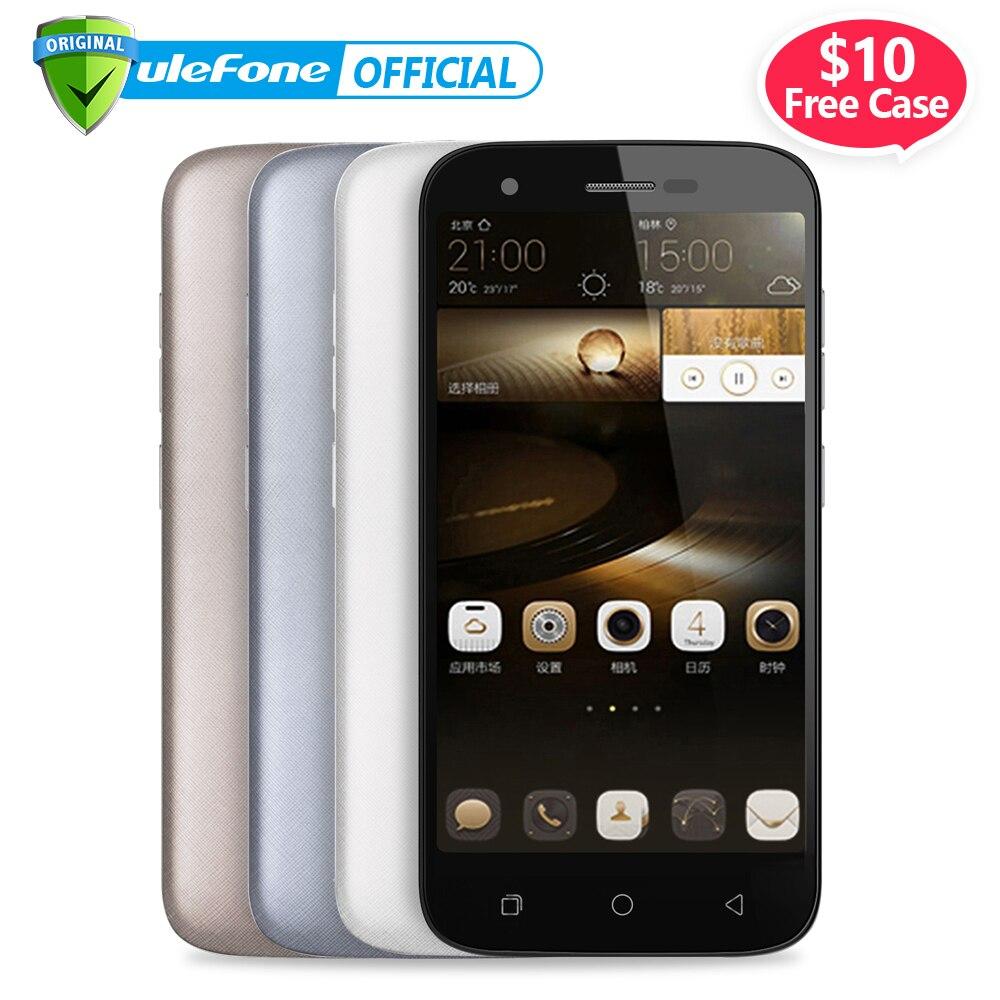 Цена за Ulefone u007 мобильный телефон 5 дюймов hd 1280x720 mtk6580a quad core android 6.0 1 ГБ RAM 8 ГБ ROM 8MP Cam 3 Г 2200 мАч Батареи Dual Sim