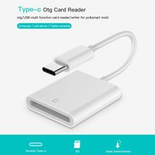 SD Card Reader USB 3.1 Type C USB-C to SD Card Camera Reade Type-C OTG Card Reader for Macbook Cell Phone Samsung Huawei Xiaom(China)