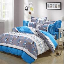 bed cover Free three-piece