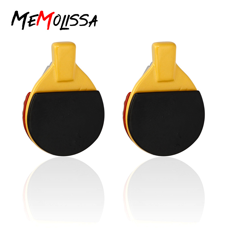 Ping Pong Paddle Cufflinks  Table Tennis