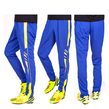 купить 2019 Adult Football soccer long pants outdoor sport pantalon deportivo hombre Zipper pockets, quick-drying по цене 845.4 рублей