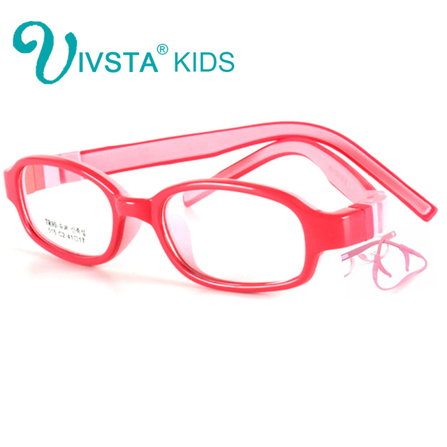 c9bd82f6d0 IVSTA 515 41-17 Silicone Boys Glasses TR90 Kids Eyeglasses with retainer  strap Children Optical