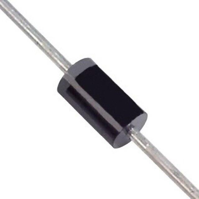Diodes de redresseur de silicium de plomb Axial de 50 pcs 1N4004 400 V 1A DO-41