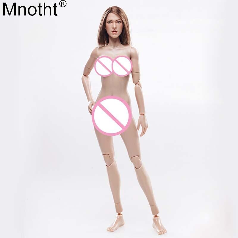 Mnotht 1/6 Cuerpo Femenino FX03 encapsulado pecho grande vegetariano ...