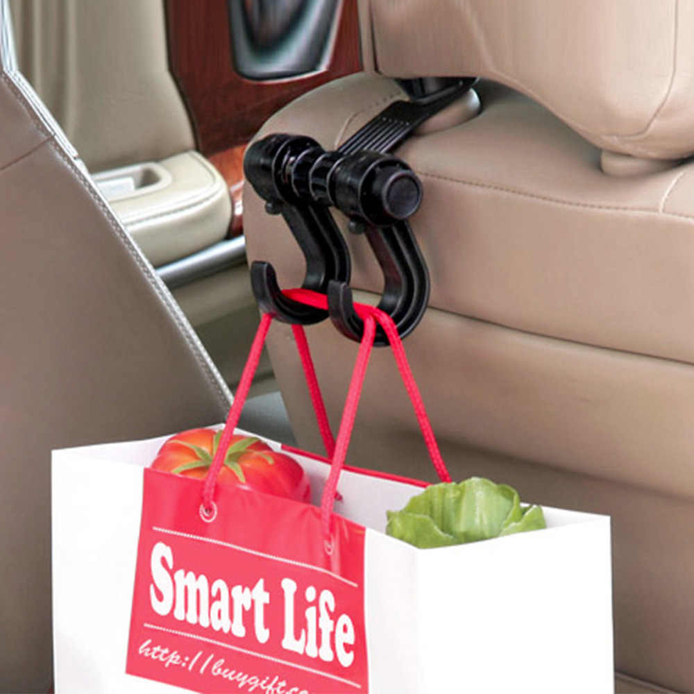 Di Car Seat Lại Lưu Trữ Móc Đồ Lặt Vặt Hanger Bag Chủ Phổ Đa Chức Năng xe móc Fastener & Clip