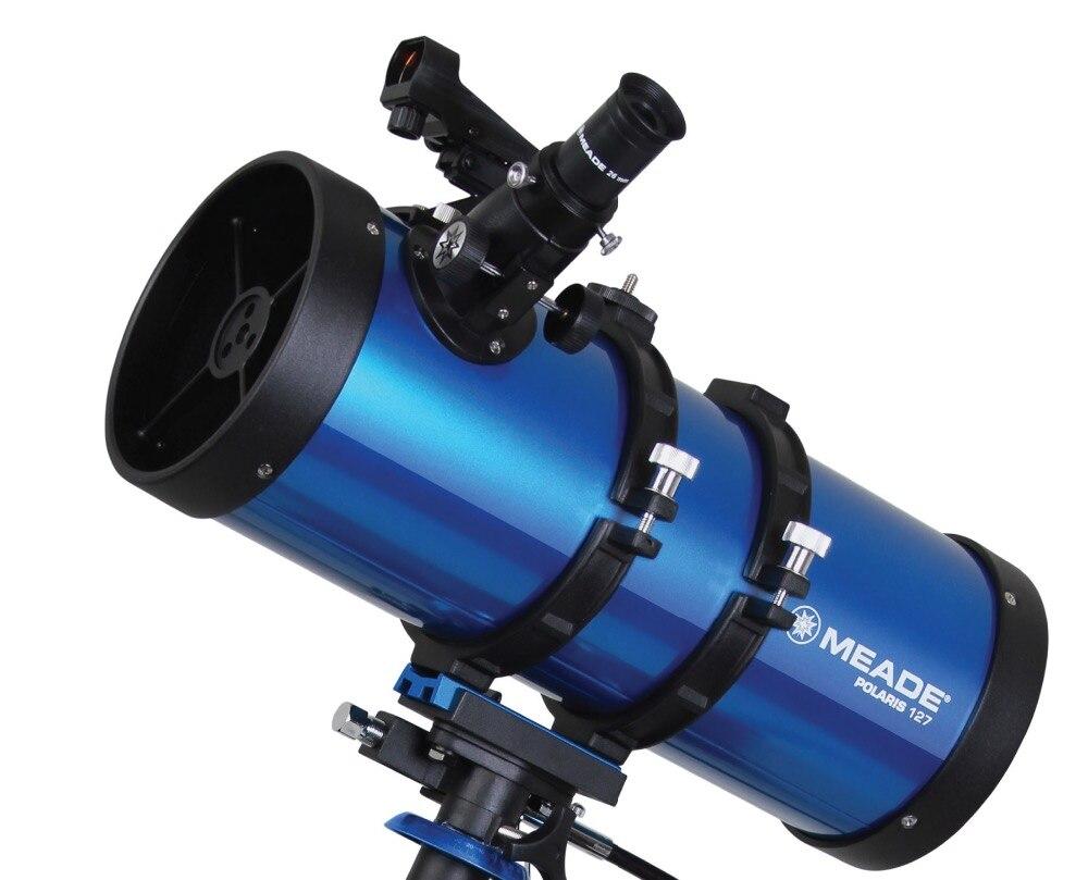 MEADE POLARIS 127EQ télescope à réflecteur astronomique professionnel vision de l'espace profond étoile lune HD adulte étudiant Science populaire