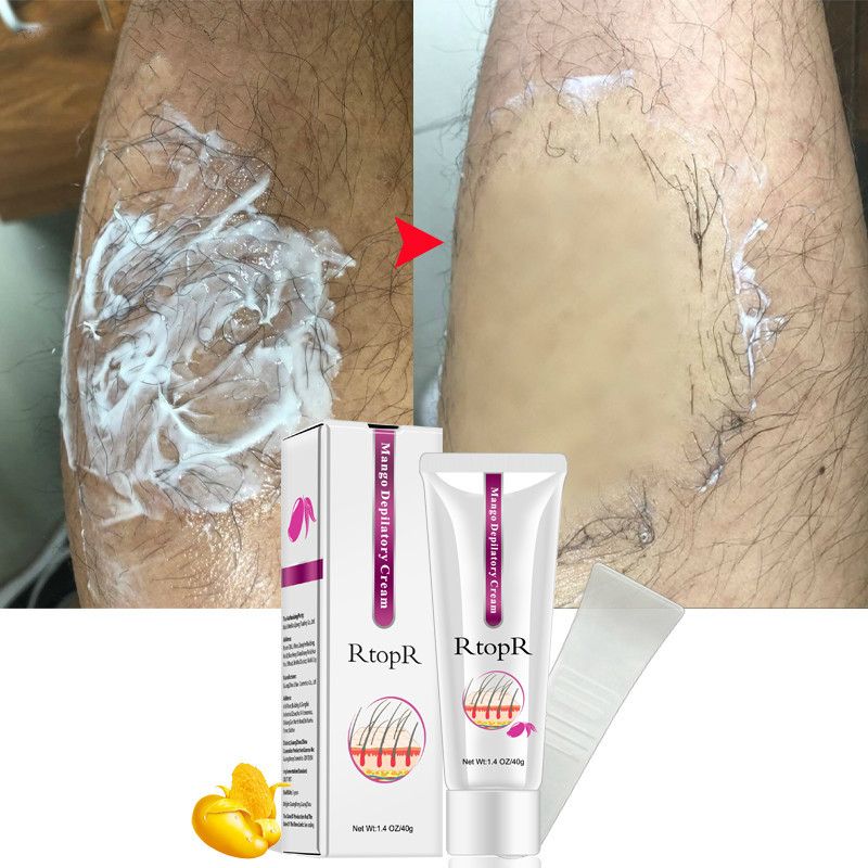 Depilatory Cream Natural Skin Smooth Hair Removal Cream Summer Hot Painless Hair Removal Permanent Hair Removal Cream  TSLM1