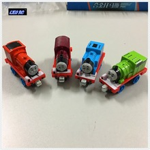 4PCS Thomas and friends metal diecast train magnetic link Thomas trians car railway engine & metal diecast model cars