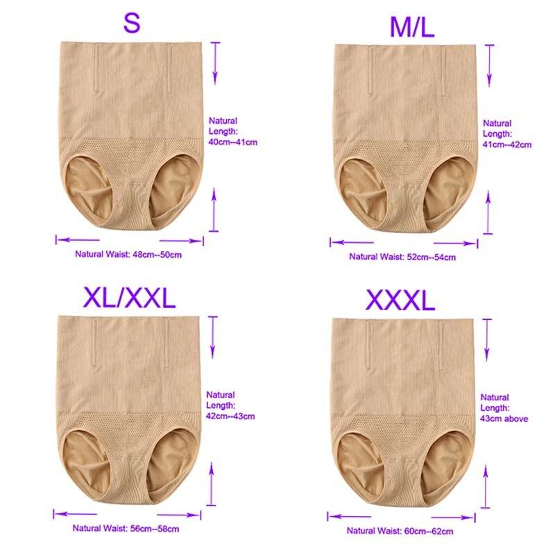 High Waist Shaping Panties Breathable Thong Shapewear Body Shaper Slimming Belt Woman Body Tummy Shapers Corrective  (2)