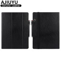 Genuine Leather For Lenovo Miix 720 Case Cover Ideapad MIIX720 Protective Smart Tablet Miix 5 Pro Case Protector Sleeve Cowhide