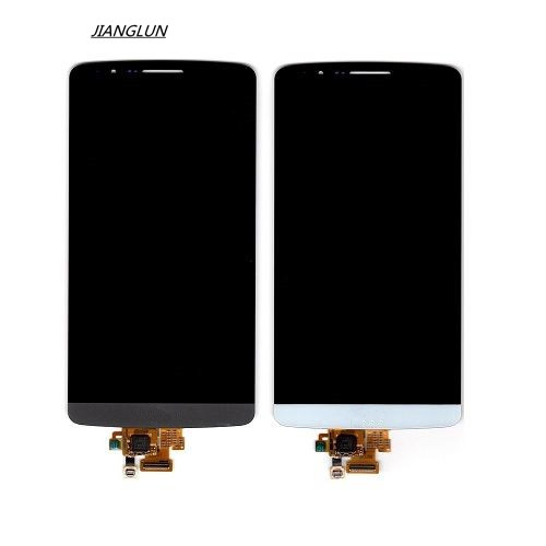 JIANGLUN For LG G3 D850 D851 D855 VS985 LS990 OEM LCD Digitizer Touch Screen Assembly цена