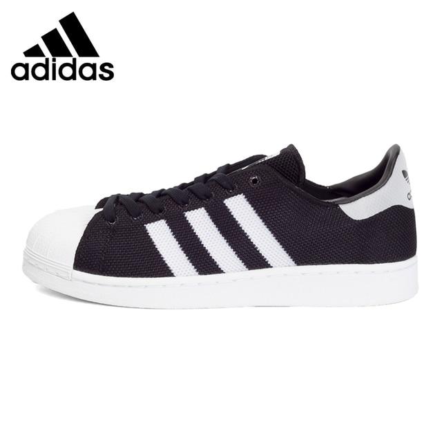 Originale Nuovo Arrivo 2017 Adidas Originals Superstar Unisex Scarpe Da Skateboard Sneakers