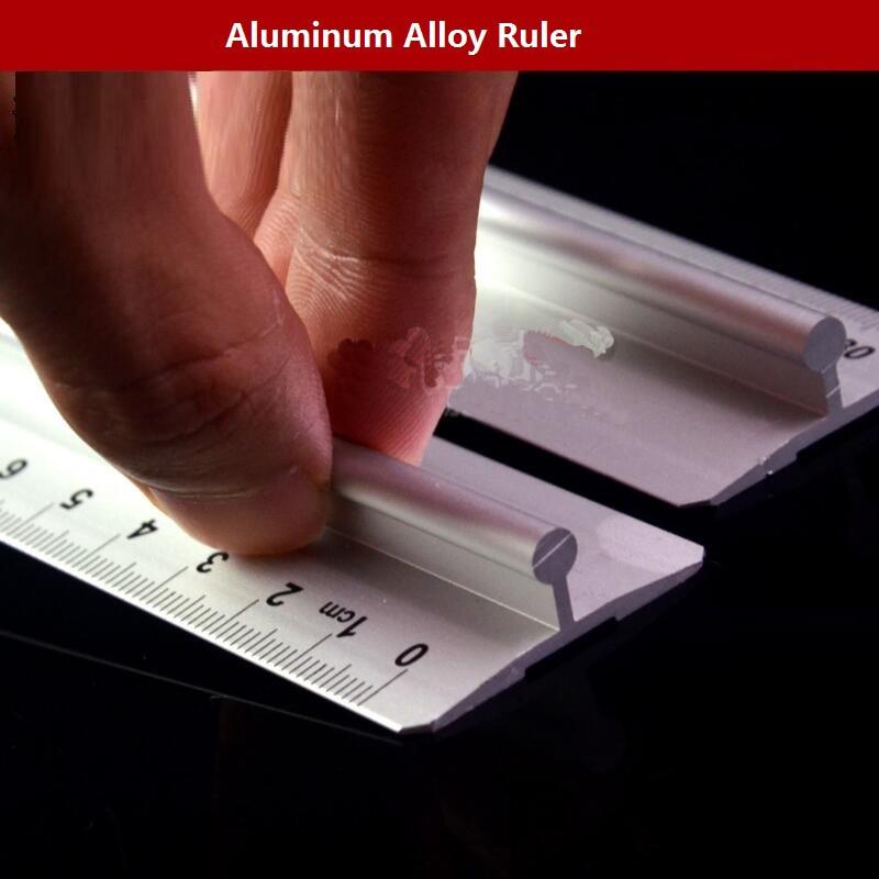 30cm Aluminum Alloy Ruler Measure Ruler No.RC825530 adjustable ruler measure rc car height