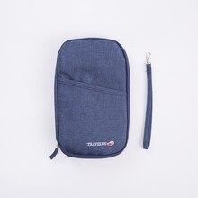 Mode Reise Reise Dokument Organizer Brieftasche Reisepass ID Kartenhalter Ticket Kreditkarte Tasche 14 * 23,5 cm