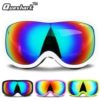 Winter Skiing Glasses Anti Fog Windproof Ski Goggles Uv Protection Skating Cycling Climbing Sunglasses Dustproof Eyewear