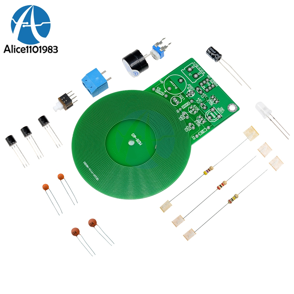 Diy Kit Metal Detector Electronic Dc 3v 5v 60mm Non Contact Circuit Boards Sensor Board Module Part In Integrated Circuits From