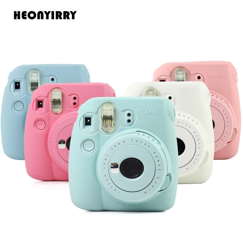 HEONYIRRY Instant Camera Bag Case for Fujifilm Instax Mini 9 Mini 8 8+ Case Classic Noct ...