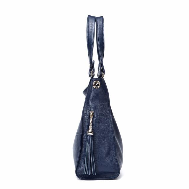 4 Colors 100% Genuine Leather Women Bags Handbags Famous Brands Shoulder Bag Real Cowhide Leather Messenger Bags