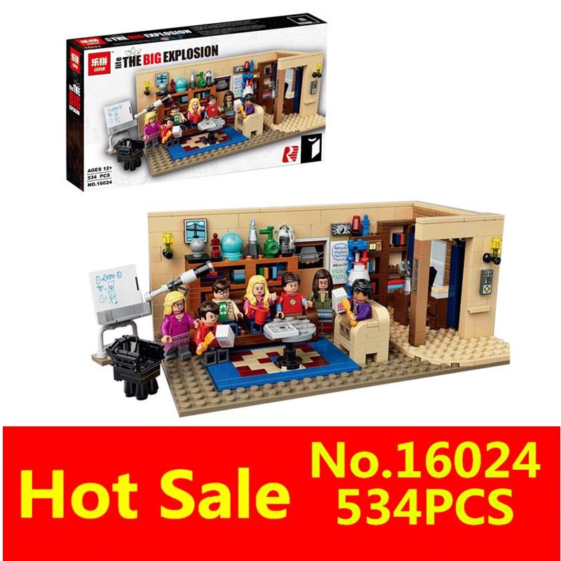 ФОТО The Big Bang Set Educational Building Blocks Bricks NEW LEPIN 16024 534Pcs Ideas Series Compatible Children Toys Gift 21302