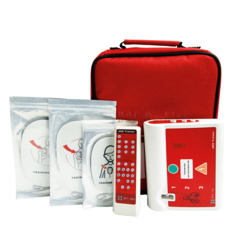 Automatic External Defibrillator Simulator CPR AED Trainer Training In Arabic
