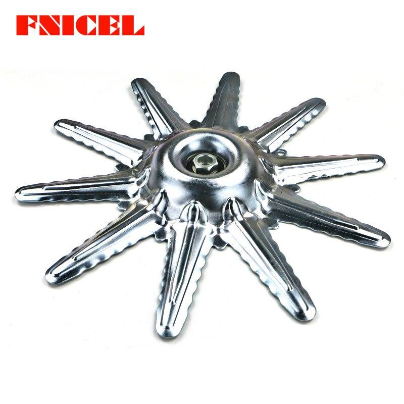 Coupe gazon tête lame housse de protection métal tondeuse à gazon accessoires 4 temps sac à dos débroussailleuse lame protection Shell
