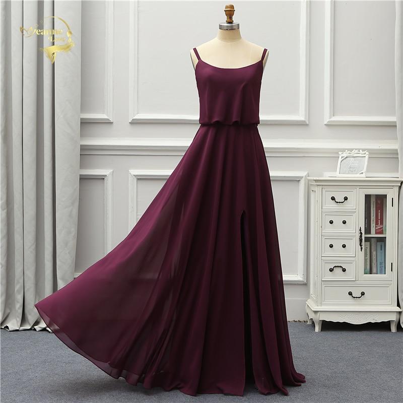 Jeanne Love Fashion Formal Evening Dress 2019 Chiffon Elegant Party Robe De Soiree Vestido De Festa