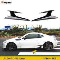 Carbon fiber side skirt spoiler For Toyota 86 2012 2015 side wing For subaru BRZ For Scion GT86 CF styling side skirt decorative
