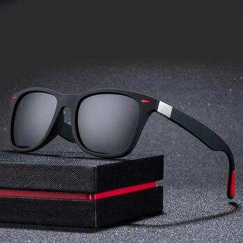 Unisex moderné polarizované slnečné okuliare