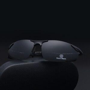 Image 3 - 2018 Алюминий алюминиево магниевого сплава, солнцезащитные очки Для Мужчин Поляризованные UV400 вождения Ночное видение очки спортивные солнцезащитные очки oculos de sol masculino с коробкой